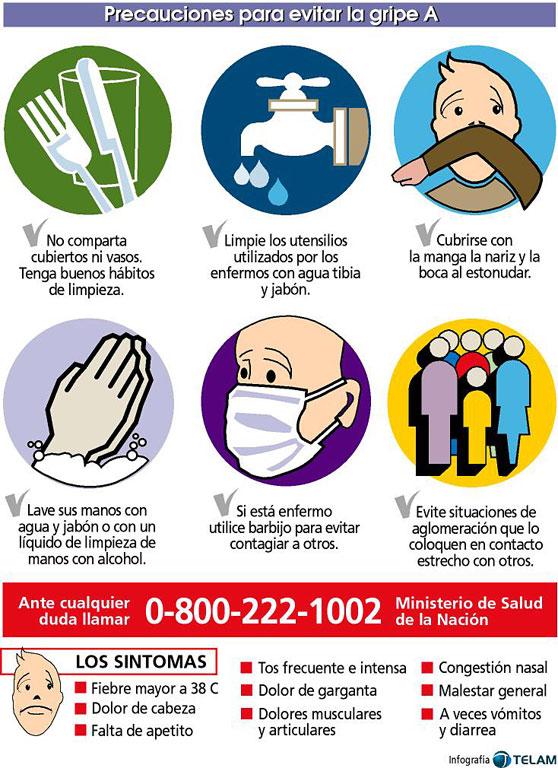 <b>Gripe</b> A ( H1N1). Precauciones para evitar la <b>Gripe</b> A. 6 Claves a tener ...